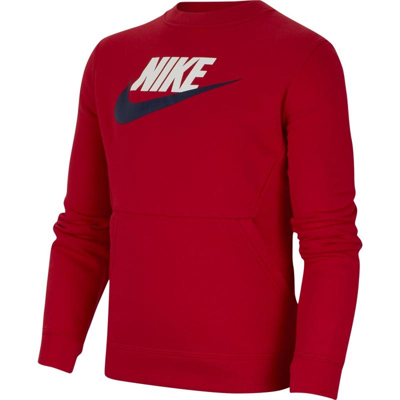 Sudadera Nike B Nsw Ls Crew Club 657