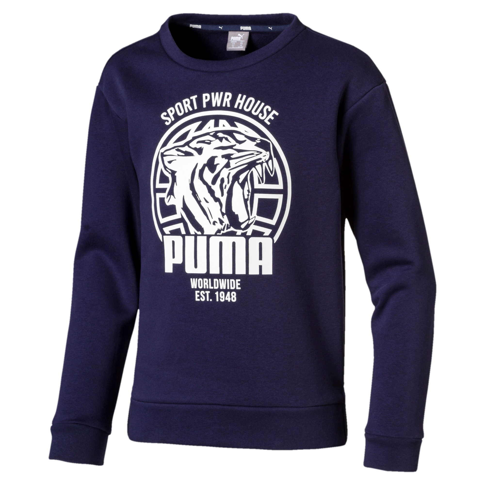 Sudadera Puma Alpha Graphic Crew Fl 06