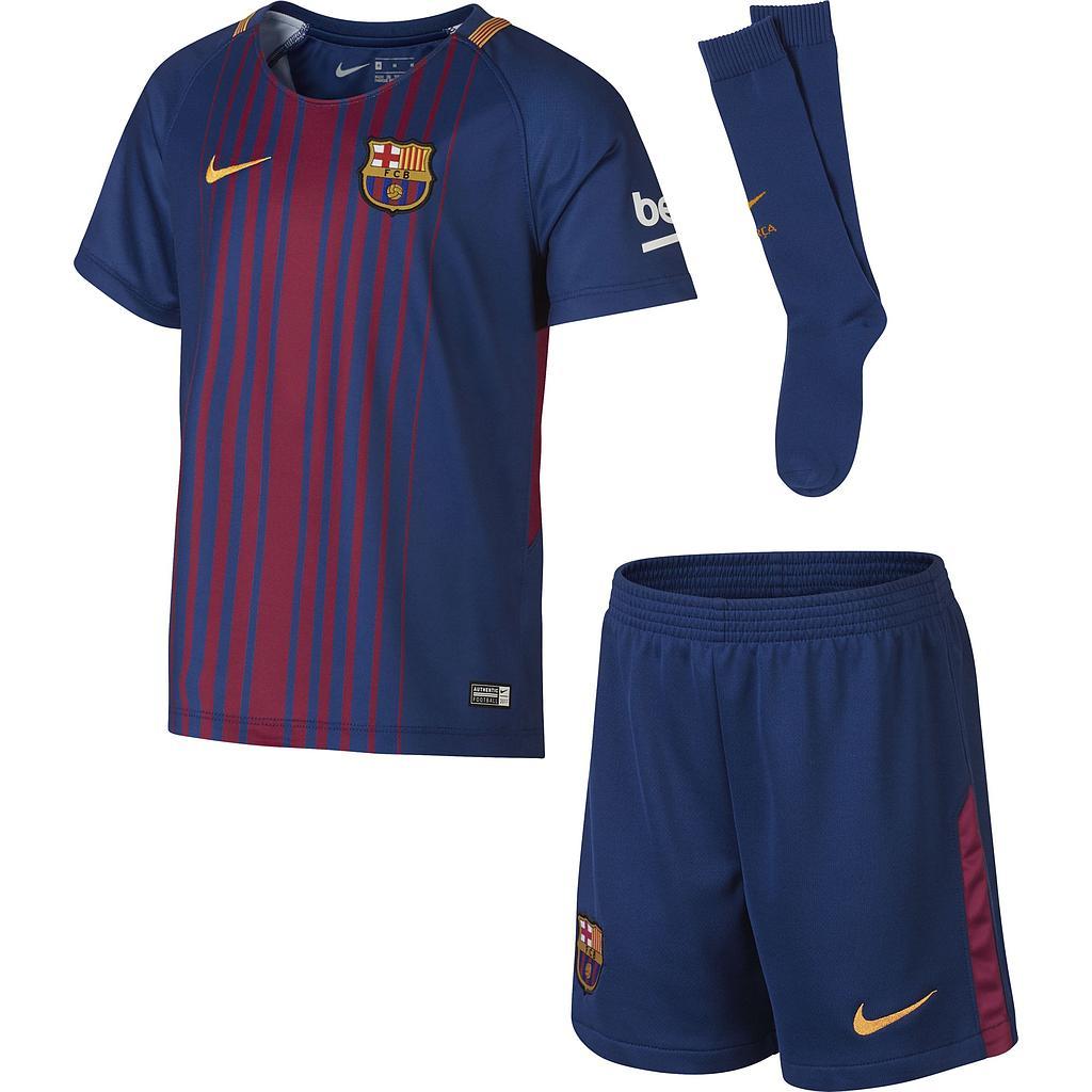 Conjunto Nike Fcb Lk Nk Brt Kit Hm